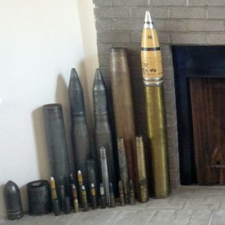 INERT SHELLS, ROUNDS, AND AMMUNITION